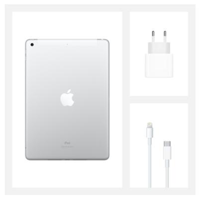 "Планшет Apple iPad 10.2"" Wi-Fi + LTE 32Gb Silver (MYMJ2RK/A)2020 5"