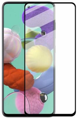 Комплект защитных стёкол 2E для Galaxy A51(A515) 2.5D FCFG Black border 1