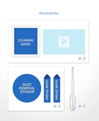 Комплект защитных стёкол 2E для Galaxy A51(A515) 2.5D FCFG Black border 5