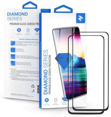 Комплект защитных стёкол 2E для Galaxy A51(A515) 2.5D FCFG Black border 6