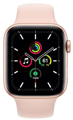 Смарт-годинник Apple Watch SE GPS 44mm Gold Aluminium Case with Pink Sand Sport Band Regular 1