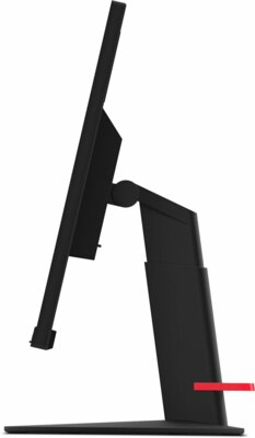 "Монитор 23.8"" Lenovo ThinkVision T24m (61CFRAT2UA) Black 4"