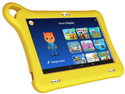 Планшет Alcatel TKEE MINI (8052) Yellow 2