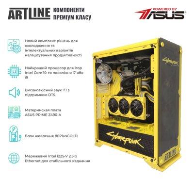 Системный блок ARTLINE Gaming SAMURAIv02 Black 2