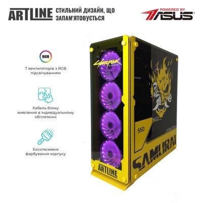 Системный блок ARTLINE Gaming SAMURAIv02 Black 3