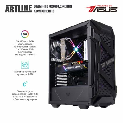 Системний блок ARTLINE Gaming TUFv20 Black 3