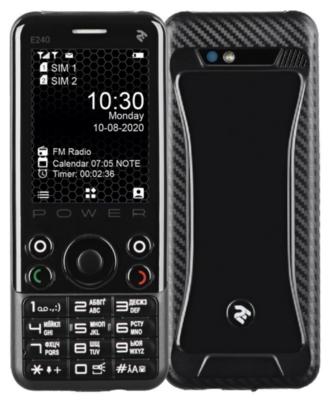 Мобильный телефон 2E E240 POWER DS Black 2