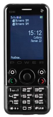 Мобильный телефон 2E E240 POWER DS Black 4