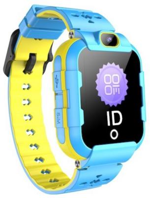 Детские телефон-часы с GPS трекером GOGPS ME K22 Синие 1
