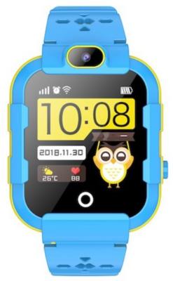 Детские телефон-часы с GPS трекером GOGPS ME K22 Синие 2