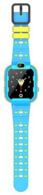 Детские телефон-часы с GPS трекером GOGPS ME K22 Синие 3