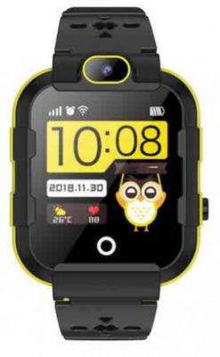 Детские телефон-часы с GPS трекером GOGPS ME K22 Черные 2