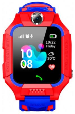 Дитячий GPS годинник-телефон GOGPS ME K24 Червоний 2