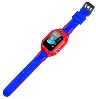 Дитячий GPS годинник-телефон GOGPS ME K24 Червоний 4