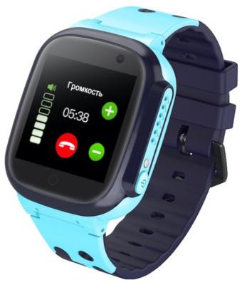 Детский GPS часы-телефон GOGPS ME K16 Синий 1