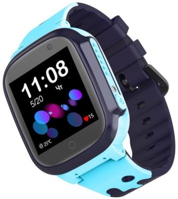 Детский GPS часы-телефон GOGPS ME K16 Синий 3