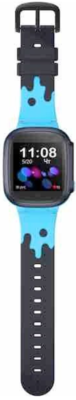 Детский GPS часы-телефон GOGPS ME K16 Синий 4