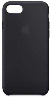 Чехол Apple Leather Case для iPhone 8/7/SE 2020 Black 1