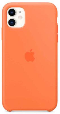 Чохол Apple для iPhone 11 Silicone Case Vitamin C (ZKMY192ZMA) 1
