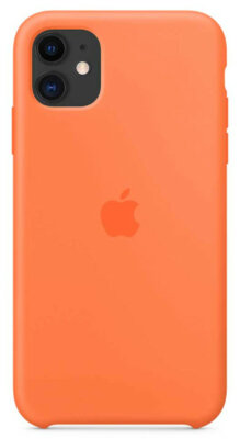 Чохол Apple для iPhone 11 Silicone Case Vitamin C (ZKMY192ZMA) 2