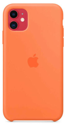 Чохол Apple для iPhone 11 Silicone Case Vitamin C (ZKMY192ZMA) 6
