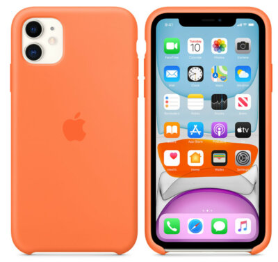 Чохол Apple для iPhone 11 Silicone Case Vitamin C (ZKMY192ZMA) 8