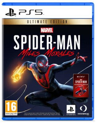 Гра Marvel Spider-Man: Miles Morales Ultimate Edition (PS5, Російська версія) 1