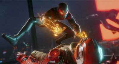 Гра Marvel Spider-Man: Miles Morales (PS4, Російська версія) 4