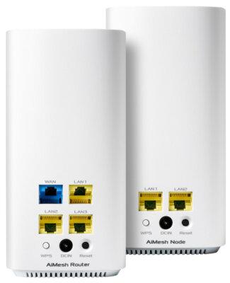 Mesh-система ASUS ZENWIFI AC MINI CD6 2PK AC1500 MESH (CD6-2PK) 6