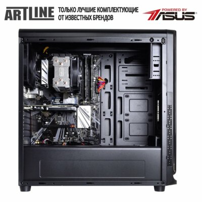 Системный блок ARTLINE WorkStation (W75v08) Black 2