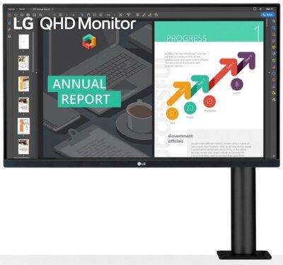 """Монитор 27"""" LG QHD Ergo (27QN880-B) Black 2"""