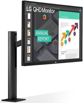"""Монитор 27"""" LG QHD Ergo (27QN880-B) Black 3"""