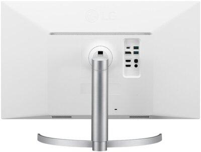 """Монітор 27"""" LG UltraFine (27UL500-W) White 4"""