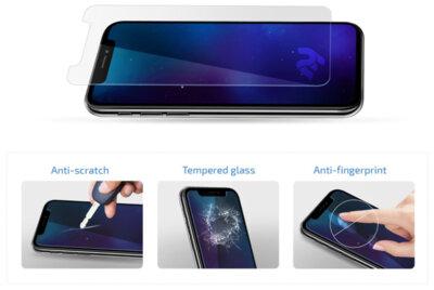 Комплект захисного скла 2E для Galaxy A51 (A515) 2.5D Clear 4