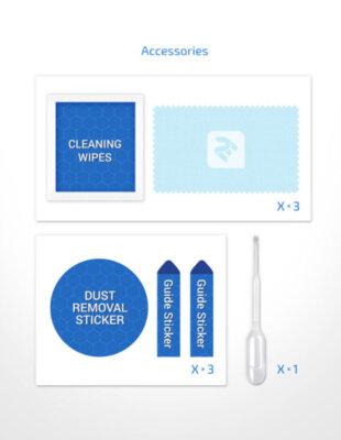 Комплект захисного скла 2E для Galaxy A51 (A515) 2.5D Clear 6