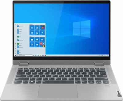 Ноутбук Lenovo IdeaPad Flex 5 14IIL05 (81X100NQRA) Platinum Grey 1