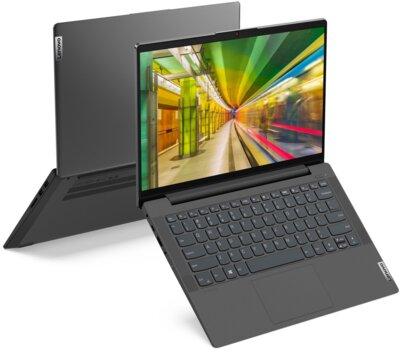 Ноутбук Lenovo IdeaPad 5 15IIL05 (81YH00NTRA) Graphite Grey 2