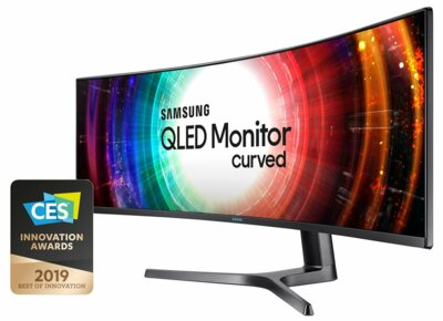 "Mонитор 49"" Samsung Curved C49RG90SSI (LC49RG90SSIXCI) Black 2"