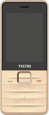 Мобильный телефон TECNO T454 DS Champagne Gold 1
