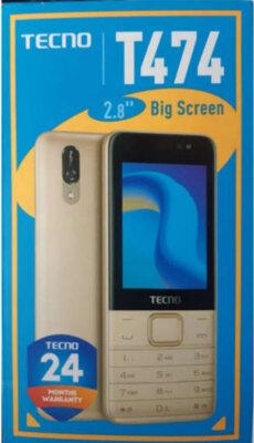 Мобильный телефон TECNO T474 DS Champagne Gold 5