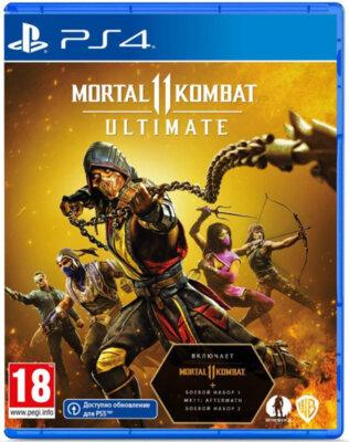 Игра Mortal Kombat 11 Ultimate Edition (PS4,Русские субтитры) 1