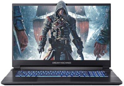 Ноутбук DREAM MACHINES G1650Ti (G1650TI-17UA48) Black 1