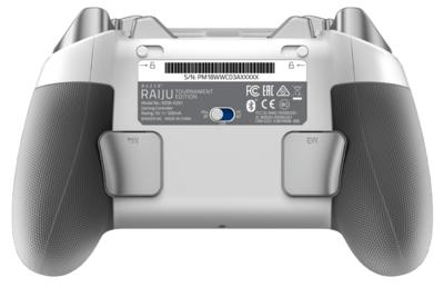 Геймпад безпровідний/провідний Razer Raiju Tournament Ed. - Mercury 6