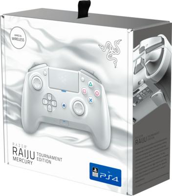 Геймпад безпровідний/провідний Razer Raiju Tournament Ed. - Mercury 7