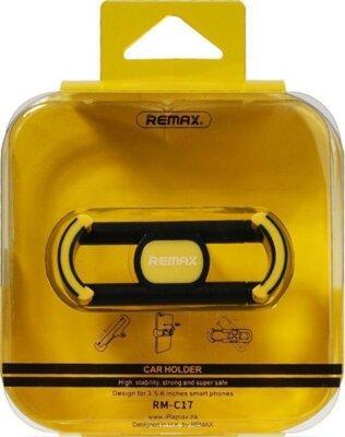 Автотримач Remax Fashion RM-C17 Black/Yellow 3