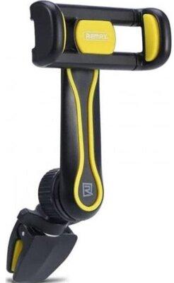 Автотримач Remax Air Vent Smart Car Mount Holder black+yellow 2