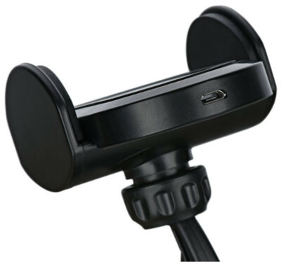 Автотримач з безпровідною зарядкою 2E Car Windshield/Airvent Wireless Charger 10W Black 5