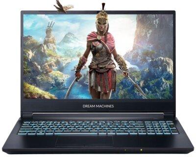 Ноутбук DREAM MACHINES G1650Ti-15 (G1650TI-15UA42) Black 1