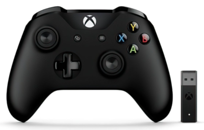 Геймпад Microsoft Xbox One Controller + Wireless Adapter (4N7-00003) 3