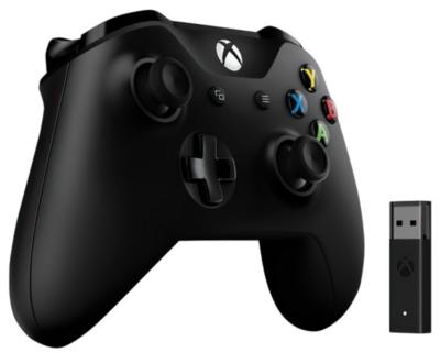 Геймпад Microsoft Xbox One Controller + Wireless Adapter (4N7-00003) 4